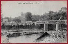 CPA AK TONKIN (INDOCHINE Indo-Chine) - LAOKAY (Lào Cai) - Le Pont Sur Le Nam Thi ° Dieulefils N° 622 - Vietnam