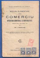 Rumänien; Romania; Scoala Elementara De Comert, Clasa I; 1922 - Bücher, Zeitschriften, Comics