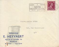 Enveloppe Publicité Imprimerie Heyvaert à Bruxelles - Publicités
