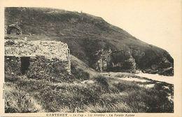- Manche -ref-B324- Carteret - Le Cap - Les Grottes - Grotte - La Vieille Eglise -  Carte Bon Etat - - Carteret