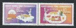 Chypre Turc YT 573-574 XX / MNH Europa 2005 - Chypre (Turquie)