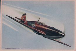 Aviation, Super Marine SPITFIRE Par Illustrateur (621) 10x15 - 1939-1945: 2ème Guerre