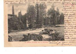 86-----LATHUS---le Moulin D'ouzilly Sur La Gartempe---voir 2 Scans - Autres Communes