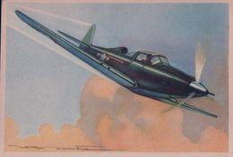 Aviation, Bell AIRACOBRA Par Illustrateur (622) 10x15 - 1939-1945: 2. Weltkrieg
