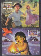UNO Vienna 1996 40Y Unicef 2 Maxicards (37394) - Maximumkaarten