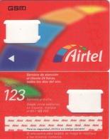 TARJETA TELEFONICA DE ESPAÑA, (SIM) 190. - Airtel