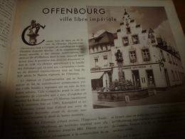 1946 :Offenbourg;Baden-Baden;Constance;Coblence;Rheinsheim;Bad-Kreuznach,Philippsbourg,Leimersheim,Spire;etc - Revues & Journaux