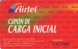 TARJETA TELEFONICA DE ESPAÑA, (PREPAGO) 187. - Spanien