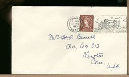 GREAT BRITAIN - 1963 - NEWARK NOTTS CASTLE - Castles
