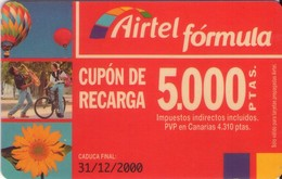 TARJETA TELEFONICA DE ESPAÑA, (PREPAGO) 191. - Spanje
