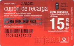 TARJETA TELEFONICA DE ESPAÑA, (PREPAGO) 195. - Spanje
