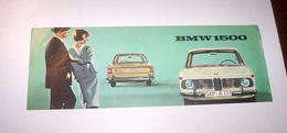 Automobilismo - Brochure Originale BMW  1500 - Ed. 1964 - Publicités