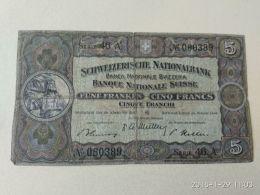 5 Francs 1949 - Svizzera