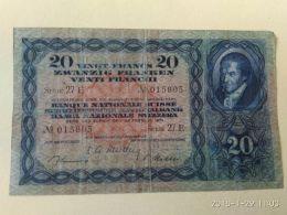 20 Francs 1951 - Suisse