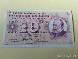 10 Francs 1973 - Suiza