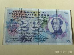 20 Francs 1971 - Svizzera