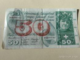 50 Francs 1963 - Svizzera