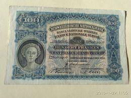 100 Francs 1943 - Suisse