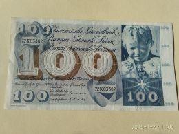 100 Francs 1970 - Suiza