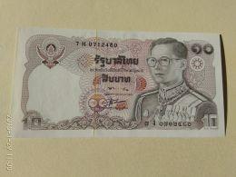 10  Baht 1980 - Tailandia