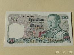 20  Baht 1981 - Tailandia