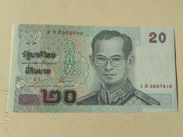 20  Baht 2003 - Tailandia