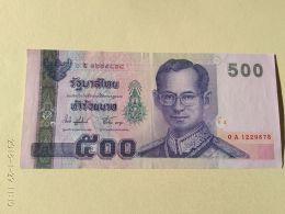 500  Baht 2001 - Thailand