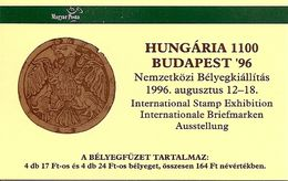 HUNGARY, Booklet 10, 1996, Budapost '98 - Booklets