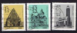 Litauen / Lietuva, 1993,  Mi 511-513, Gestempelt [290118XXII] - Lituania
