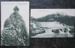 Maurice Ile Lot 2 Cpa  Pic Pieterboth / Cascade Riche En Eau Magasins Reunis - Maurice