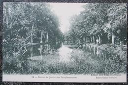 Maurice Ile Bassin Jardin Pampemousses Cpa  Magasins Reunis - Mauritius