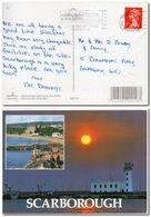 1994 UK Great Britain Postcard Scarborough Posted In York - 1952-.... (Elizabeth II)