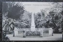 Maurice Ile Tombeaux Des Gouverneurs Cpa Messageries Maritimes - Maurice