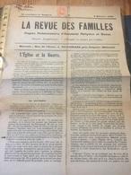 La Revue Des Familles 9/02/1919 + Timbre - Kranten