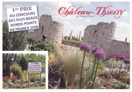 02 CHATEAU THIERRY - MULTIVUES - PREMIER PRIX DU CONCOURS DES PLUS BEAUX RONDS-POINT DE FRANCE 2008 - Chateau Thierry