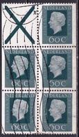 1980 Inhoud Automaatboekje Juliana Regina 5 X 60 Cent + Kruis  NVPH PB 24 A - Postzegelboekjes En Roltandingzegels