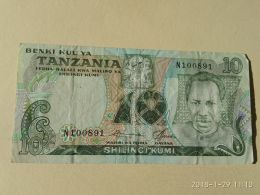 10 Shilinci 1978 - Tanzanie