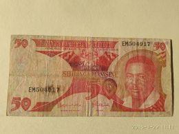 50 Shilinci 1993 - Tanzanie