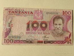 100 Shilinci 1977 - Tanzania