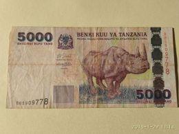 5000 Shilinci 2003 - Tanzania