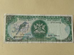 5 Dollars 1985 - Trindad & Tobago