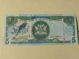 5 Dollars 2002 - Trindad & Tobago