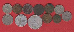 Hongrie / Lot De 12 Monnaies - Hongrie