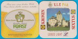Birra Forst  Lagundo ( Bd 599 ) Italien Schloss Thurn - Sous-bocks