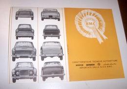 Automobilismo - Brochure Originale AUSTIN MORRIS - Ed. 1964 - Advertising