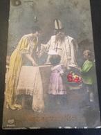Thème Saint Nicolas  - Belle Carte Photo - Pas Circulee - Nikolaus