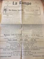 Journal LA RAMPE Programme Officiel 1926 - Kranten