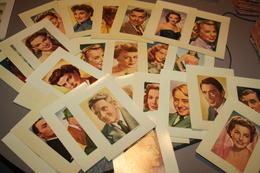 Tres Beau Lot De Photos De Vedettes 60 Pieces Toutes Differante Offert Parkwatta Et Mgm - Fotos