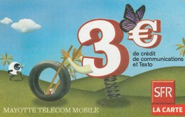 Mayotte - De Credit De Communications - 3€ - Phonecards