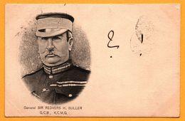 General SIR REDVERS H. BULLER - G.C.B K.C.M.G. - Oblitération Double Et Surchargée De BOURNEMOUTH - KESZTHELY 1900 - Satiriques